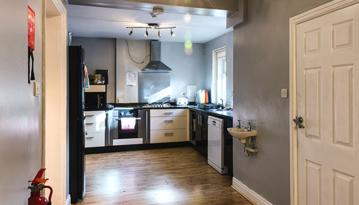 Kitchen at The Old Vicarage, Ollerton
